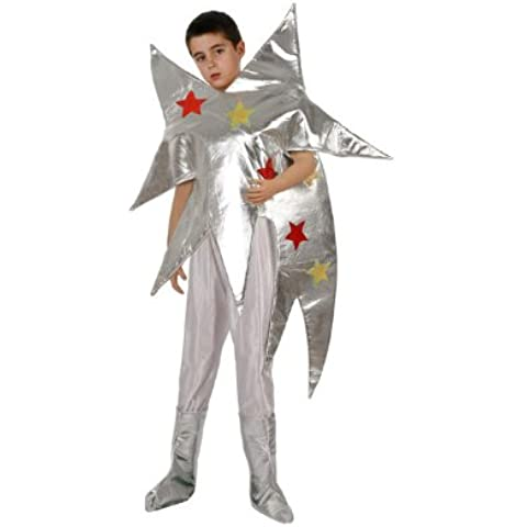Atosa - Disfraz de estrella para niño, talla 5 - 6 años (8422259963400)