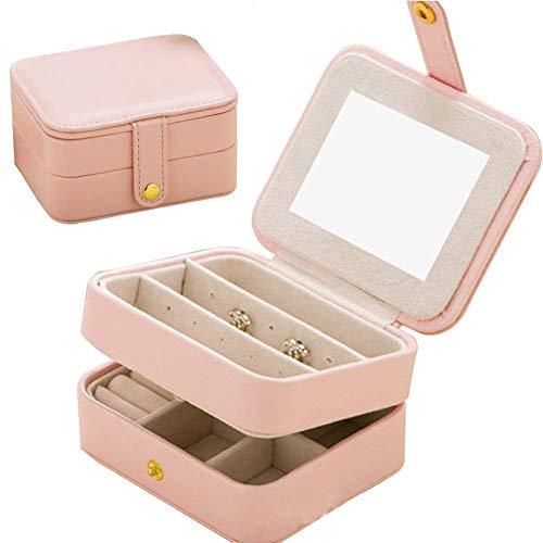 Cimic Schmuck Organisator Travel Portable Schmuck Storage Case Zubehör Holder Pouch Buliin Mirror...