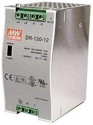DR-120-12 Meanwell AC to DC DIN-Rail Power Supply 12 Volt 10 Amp 120 Watt
