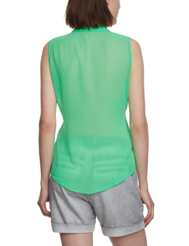 PIECES - Blouse - Sans manche Femme Vert - Green - Grün (SUMMER GREEN)