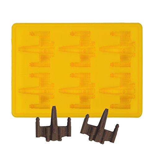 ly Care Silikon Gussform Cartoon Eiswürfel Schokolade Silikonform, Ideal für Schokolade, Süßigkeiten, Götterspeise, Gelb (Gelbe Schokolade)