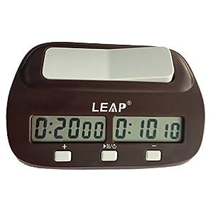 Digitale Multifunzione Display Chess Clock Count Up Down Timer Elettronico Board Game Competition Orologio(Con Marca Gift Box)
