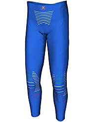 X-Bionic Junior Invent Uw Pants Long Técnicas Multisport Infantil, Color Azul (Blue Italy), 8 y 9 Años.