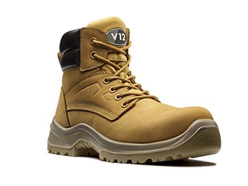 V12 Bobcat, Nubuck Derby Boot, Size varies, Honey
