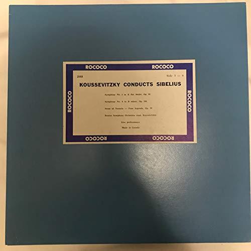 Koussevitzky Conducts Sibelius [Vinyl LP]