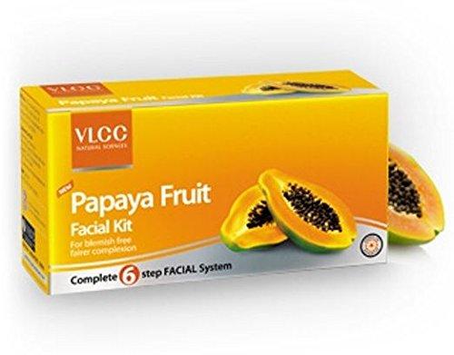 VLCC Papaya Fruit Facial Kit, 60 gm