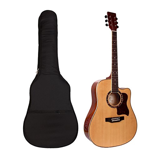 """41"""" Gitarrentasche,Gitarre taschen Guitar Gig Bag Für Akustikgitarre und Klassikgitarren Gitarrenzubehör"""
