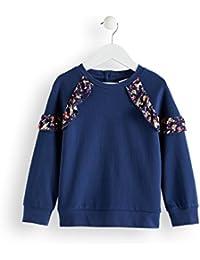 RED WAGON Mädchen Sweatshirt mit Rüschendetails