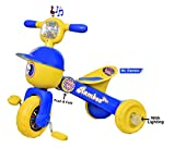 #9: Goyal'S Mr. Rambo Baby Tricycle Ride-On Bicycle - Foldable Rider With Music & Lights (Blue)