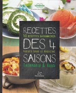 Livre Thermomix Recettes des 4 Saisons