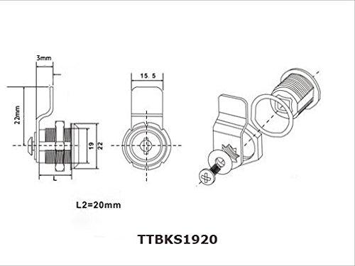 Briefkastenschloss von ToniTec - 2