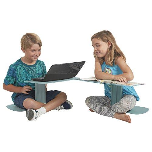 Tragbaren Laptop-schreibtisch (Ecr4kids-Tisch, tragbar, verschiedene/Laptop-Ständer für den Schreibtisch, Sea Foam)