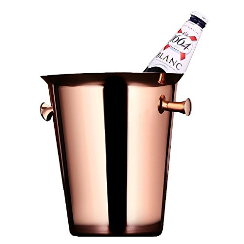 bar deluxe edelstahl eiskübel roten wein, champagner,rose gold