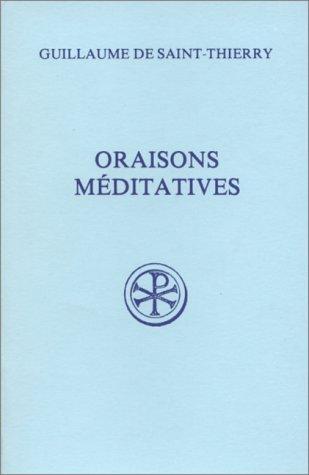 Oraisons méditatives
