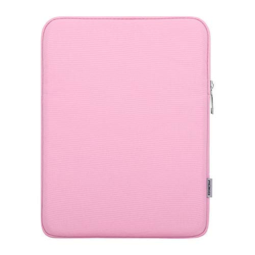 MoKo 9-10.5 Zoll Hülle für Tablet, Sleeve Schutzhülle aus Polyester Tablet Tasche für iPad Air (3. Gen) 10.5 Inch 2019,iPad Pro 11 2018,iPad 9.7 2018/2017,Galaxy Tab A 10.1,Surface Go 10 inch - Rosa (10 Zoll Surface Pro 3)