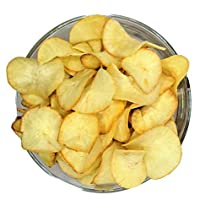 Green Lives Home Made Non Spicy Kappa/Tapioca Chips (250 gm)