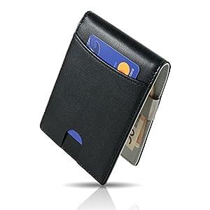 CRS Wallet  CRS Wallet, Fermasoldi  Nero nero/grigio Slim Wallet