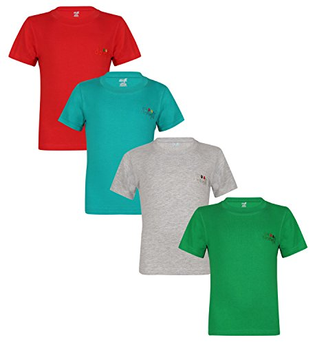 Dongli Boys Stylish 4Pcs Combo Tshirt