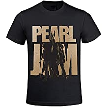 Pearl Jam Ten Men's T Shirts with Designs Round Neck