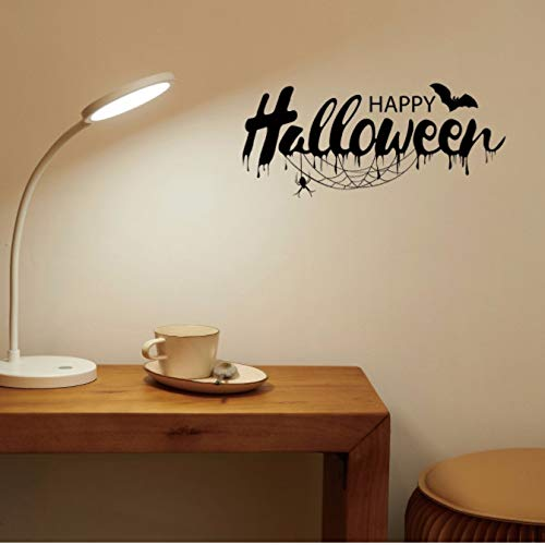 qwerdf DIY Creative Colorful Halloween Sticker Halloween Festival Decor Wall Sticker Poster Tapete Party Home Decoration Gift (Gift-halloween-party Sie Wählen Ihr)