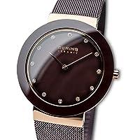 BERING Reloj Analógico para Mujer de Cuarzo con Correa en Acero Inoxidable 11435-262 de BERING