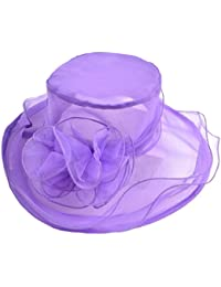 Leisial Sun Hat Sunscreen Straw Beach Cap Outdoor Holiday Leisure Hat  Wreath Decoration Flanging Cap for a75d5fb17606