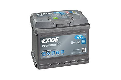 Exide EA472 Premium Carbon Boost Autobatterie 12V 47Ah 450A