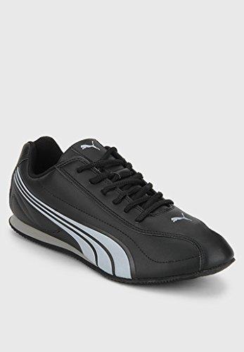Puma Men's Speeder Tetron II Ind. Black Silver Running Shoes - 7 UK/India (40.5 EU)