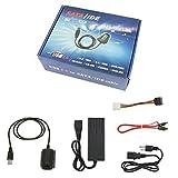 SATA/PATA/IDE-Laufwerk auf USB 2.0Adapter Konverter Kabel für Hard Drive Disk HDD 6,3cm 8,9cm mit externer AC Power Adapter