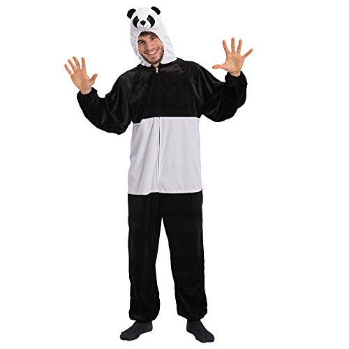 Carnival Toys-Kostüm Panda unisex-adult, mehrfarbig, One Size, 25929. (Kung Panda Fu Kostüm Adult)