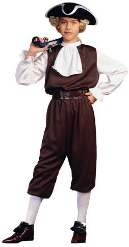 RG Costumes Colonial Boy, Child Medium/Size 8-10 by RG Costumes
