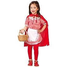 Disfraz Infantil Luxe - Caperucita 5-6 años