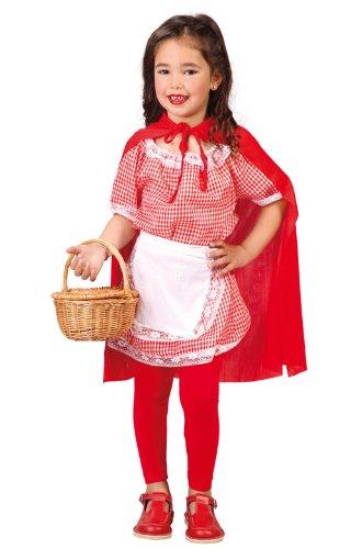 Imagen de disfraz infantil luxe  caperucita 5 6 años
