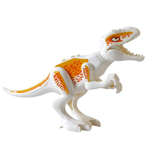 (Dinosaurier DIY Bausteine Spielzeug, DIY 3D Pädagogische Spielzeug Action-Figuren Party Favors Spielzeug für Kinder Geburtstagsgeschenk, (B))