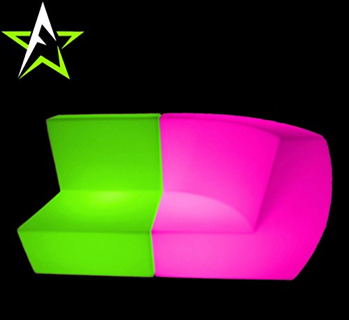 LED LOUNGE SOFA LEUCHTMÖBEL COUCH CUBE NEW DESIGN IN/OUTDOOR CLUB PARTY TREND NEW 2016 DESIGN - 5