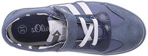 s.Oliver 44210 Mädchen Sneakers Blau (Denim 802)