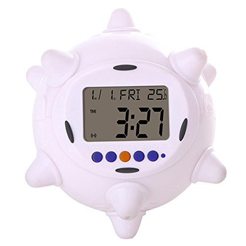 KHSKX Stummschalten Sie Bett kreative, neue exotische, farbenfrohe springen Uhr Lichter, kleine Kinder Wecker (nicht einschließlich Batterien)