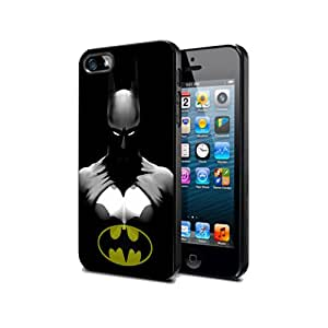 Schutzhülle für Iphone 5c, Batman-BT03 Border Gummi Silikon @pattayamart Schwarz