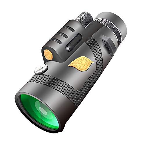 Blattgold Monokular Handy Kamera 12X50 Outdoor High-Definition Nachtsicht Schwarz 12X50