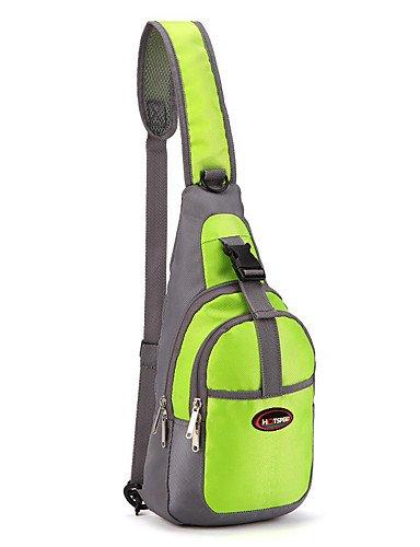 HWB/ 15 L Tourenrucksäcke/Rucksack / Travel Organizer Camping & Wandern Draußen Wasserdicht / Schnell abtrocknend / tragbar / Atmungsaktiv Green