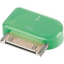 Valueline VLMP39900G - Cargador (Interior, MP3, Smartphone, Tableta, USB, Verde, iPod touch 4th gen 8 GB, 32 GB, 64 GB iPod nano 6th gen 8 GB, 16 GB, Contacto)