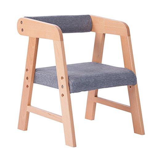 YIXINY Chaise E9009 Minimaliste Moderne Couleur Unie Linge En Coton Peut Être Assemblé Litre Drop Les Étudiants Enfants Chaise En Bois ( Couleur : 005 )