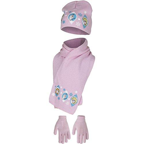 Disney Frozen Mütze mit Handschuhen und Schal im Set (52, ()