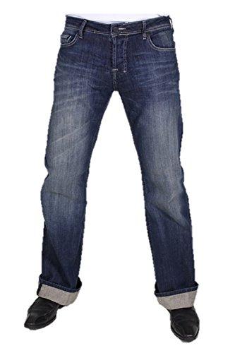 LTB Jeans Herren Jeans Low Rise Cut 5044 / Tinman_98% Baumwolle, 2% Elasthan, Blau (2 Years 305), 30W / 30L (Low-rise-jeans Männer)