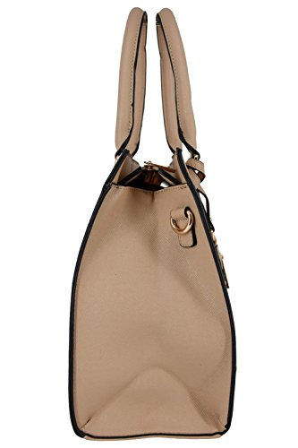bb47748ec3089 ... CRAZYCHIC - Damen Tote Handtasche mit Geldbörse - Elegant Henkeltasche  Shopper für Frau Student Arbeit Tasche ...