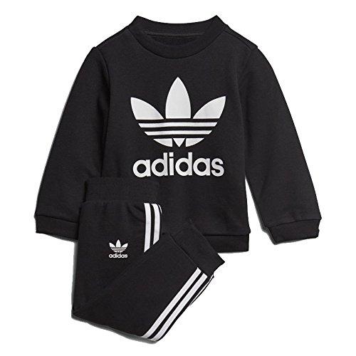 Adidas ce1974Set Sport Kinder XS schwarz / weiß