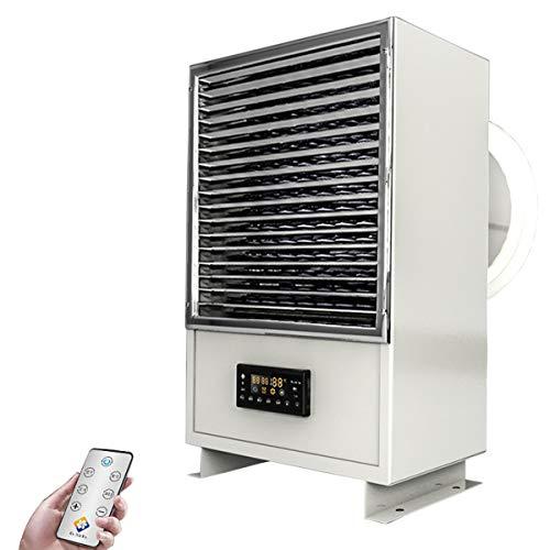 HOTT T- Riscaldatore Industriale ad Alta Potenza, Elemento riscaldante in Acciaio Inossidabile, Sistema di Protezione da surriscaldamento, Pannello LCD con Telecomando