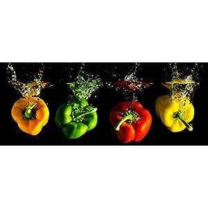 murando - acrylglasbild glass 120x40 cm - glasbilder - wandbilder ... - Glasbilder Für Küche