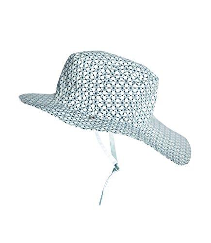 Ki ET LA Gorro Reversible 100% Anti UV Chapeau De Cowboy, Blanc/Graphik Style, 52-54 cm Bébé garçon