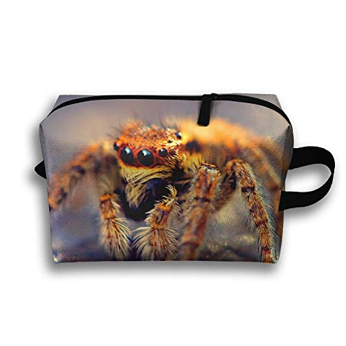 Poisonous Spider Travel Cosmetic Bag Make-Up Bags Stationery Holder
